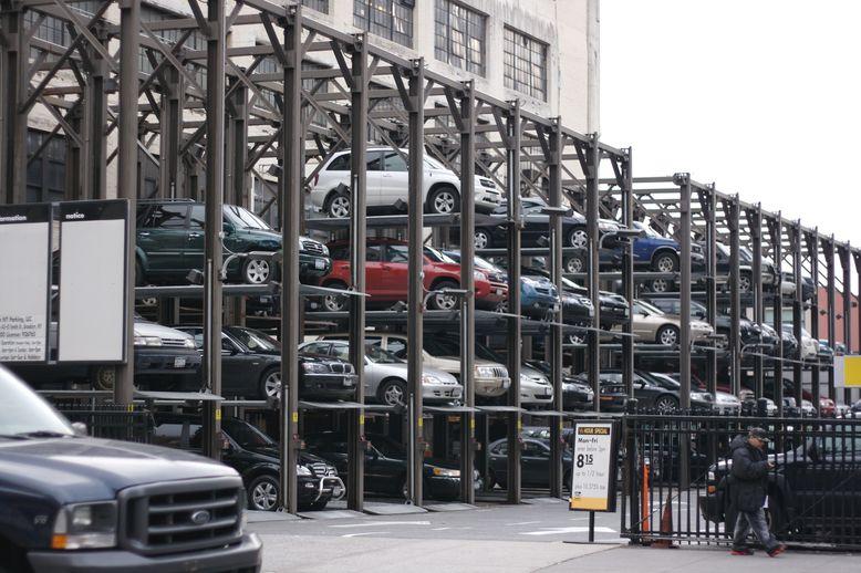 bãi giữ xe thông minh 2