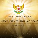 kỷ niệm 3 năm thành lập thang máy garuda
